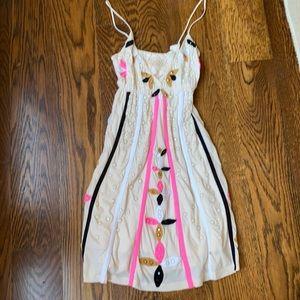 Boutique dress by Joystick - rare hand studded XS